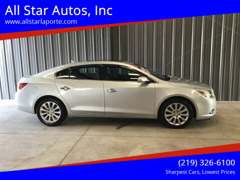 2013 Buick LaCrosse for sale at All Star Autos, Inc in La Porte IN