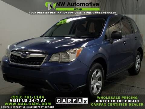 2014 Subaru Forester for sale at NW Automotive Group in Cincinnati OH