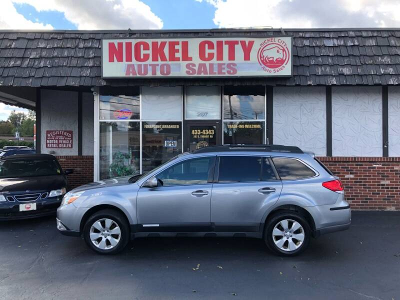 2010 Subaru Outback for sale at NICKEL CITY AUTO SALES in Lockport NY