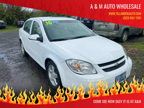 2010 Chevrolet Cobalt for sale at A & M Auto Wholesale in Tillamook OR