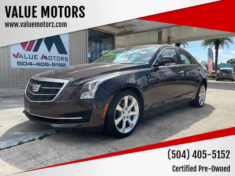 2016 Cadillac ATS for sale at VALUE MOTORS in Kenner LA
