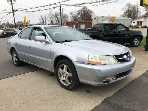 2003 Acura TL for sale at Wise Investments Auto Sales in Sellersburg IN