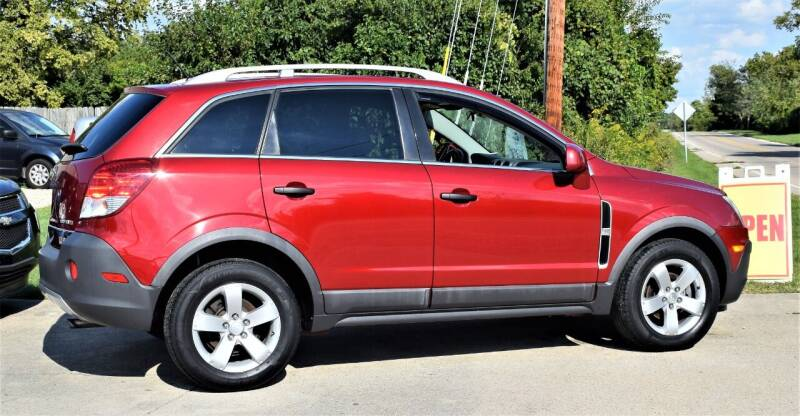 2012 Chevrolet Captiva Sport for sale at PINNACLE ROAD AUTOMOTIVE LLC in Moraine OH