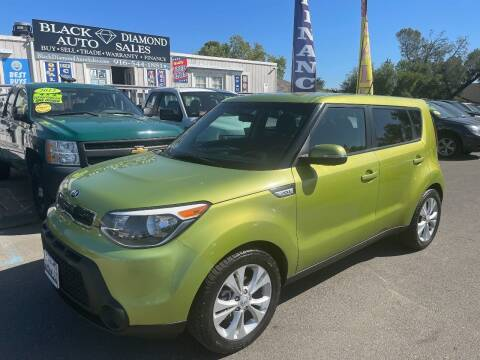 2014 Kia Soul for sale at Black Diamond Auto Sales Inc. in Rancho Cordova CA