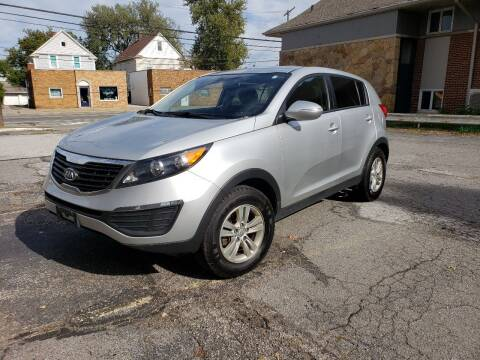 2011 Kia Sportage for sale at USA AUTO WHOLESALE LLC in Cleveland OH