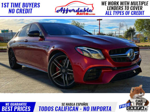 2018 Mercedes-Benz E-Class for sale at Affordable Auto Solutions in Wilmington CA