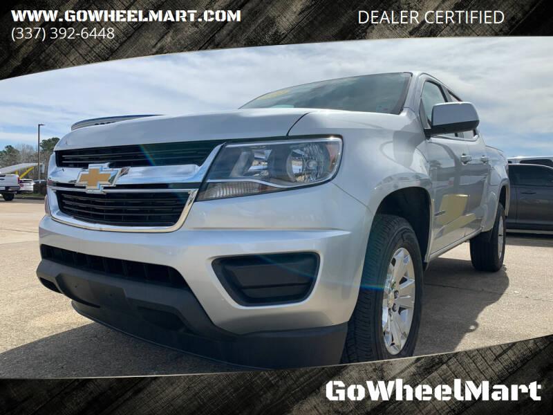 2020 Chevrolet Colorado for sale at GOWHEELMART in Available In LA