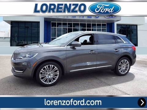 2017 Lincoln MKX for sale at Lorenzo Ford in Homestead FL