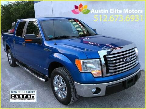 2011 Ford F-150 for sale at Austin Elite Motors in Austin TX