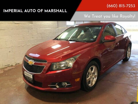 2011 Chevrolet Cruze for sale at Imperial Auto of Marshall in Marshall MO