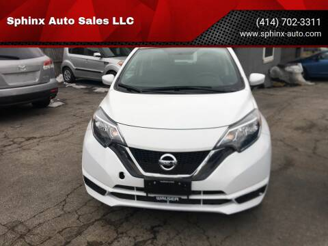 2018 Nissan Versa Note for sale at Sphinx Auto Sales LLC in Milwaukee WI