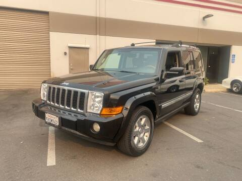 2007 Jeep Commander for sale at 3D Auto Sales in Rocklin CA