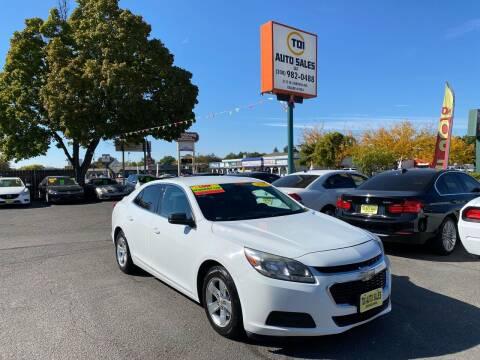 2015 Chevrolet Malibu for sale at TDI AUTO SALES in Boise ID