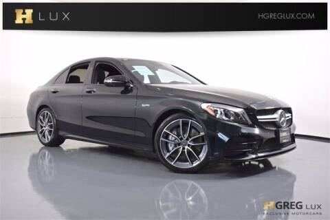2019 Mercedes-Benz C-Class for sale at HGREG LUX EXCLUSIVE MOTORCARS in Pompano Beach FL