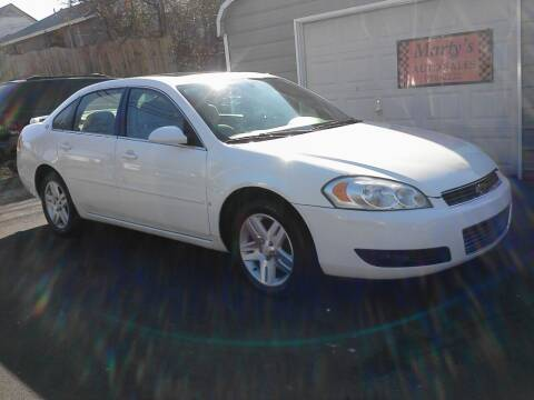 2006 Chevrolet Impala for sale at Marty's Auto Sales in Lenoir City TN