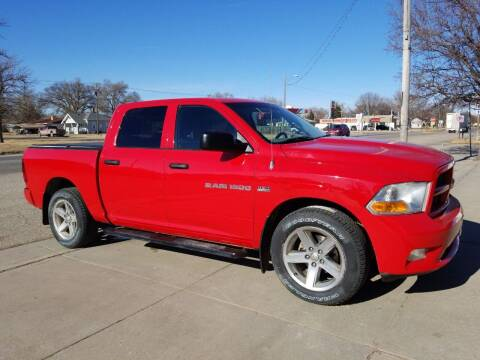 2012 RAM Ram Pickup 1500 for sale at Faw Motor Co - Faws Garage Inc. in Arapahoe NE