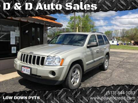 2007 Jeep Grand Cherokee for sale at D & D Auto Sales in Hamilton OH