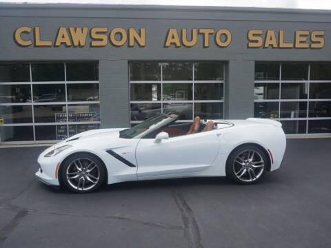 2014 Chevrolet Corvette for sale at Clawson Auto Sales in Clawson MI