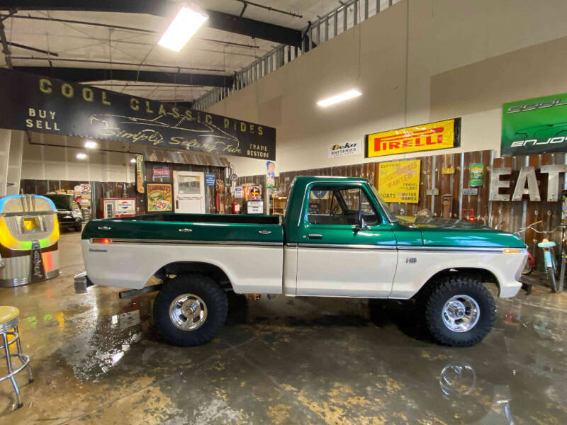 1976 Ford F-100 4X4 Custom for sale at Cool Classic Rides in Redmond OR