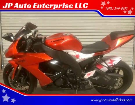 2009 Kawasaki ZX-1000 for sale at JP Auto Enterprise LLC in Duluth GA