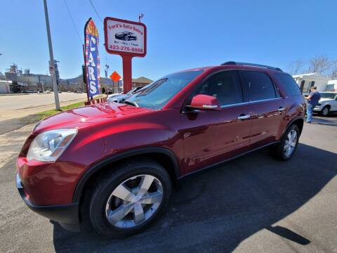 2011 GMC Acadia for sale at Ford's Auto Sales in Kingsport TN