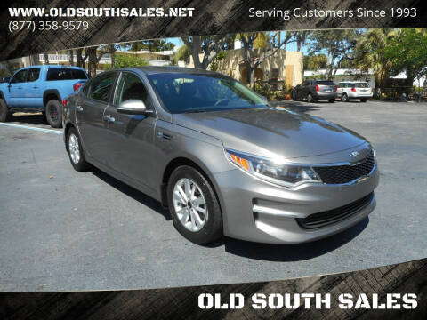 2017 Kia Optima for sale at OLD SOUTH SALES in Vero Beach FL