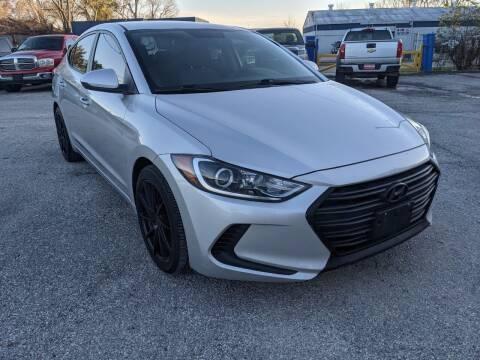 2017 Hyundai Elantra for sale at PREMIER MOTORS OF PEARLAND in Pearland TX