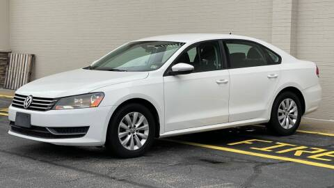 2012 Volkswagen Passat for sale at Carland Auto Sales INC. in Portsmouth VA