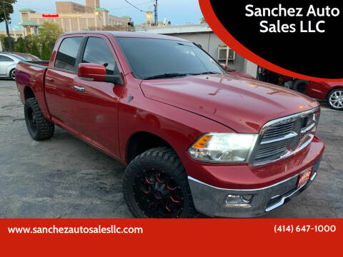 2010 Dodge Ram Pickup 1500 for sale at Sanchez Auto Sales LLC in Milwaukee WI