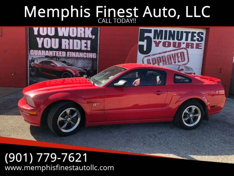 2005 Ford Mustang for sale at Memphis Finest Auto, LLC in Memphis TN