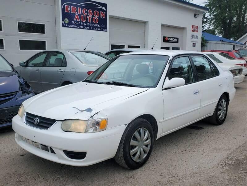 2001 Toyota Corolla for sale at Ericson Auto in Ankeny IA