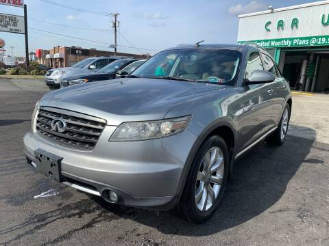 2007 Infiniti FX35 for sale at MFT Auction in Lodi NJ