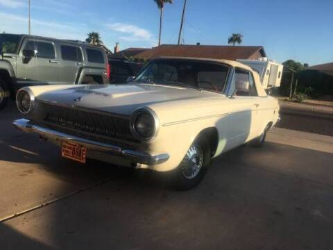 1963 Dodge Dart for sale at Classic Car Deals in Cadillac MI