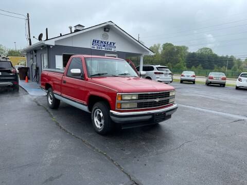 1993 Chevrolet C/K 1500 Series for sale at Hensley Auto Sales in Frankfort KY