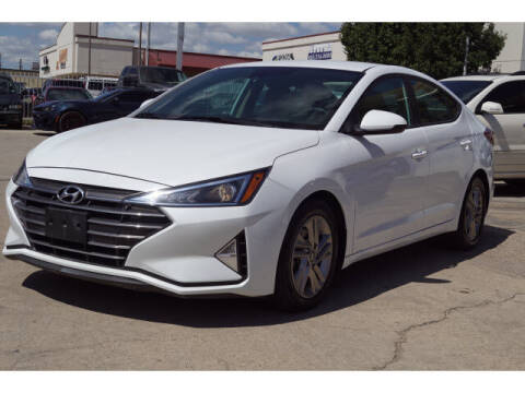 2019 Hyundai Elantra for sale at Credit Connection Sales in Fort Worth TX