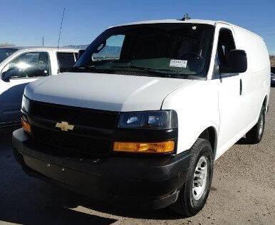 2020 Chevrolet Express Cargo for sale at CENTURY TRUCKS & VANS in Grand Prairie TX