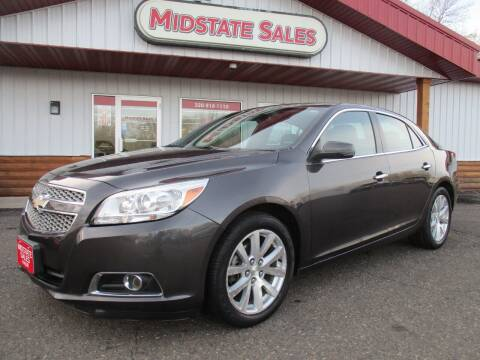 2013 Chevrolet Malibu for sale at Midstate Sales in Foley MN