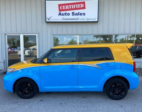 2008 Scion xB for sale at Certified Auto Sales in Des Moines IA