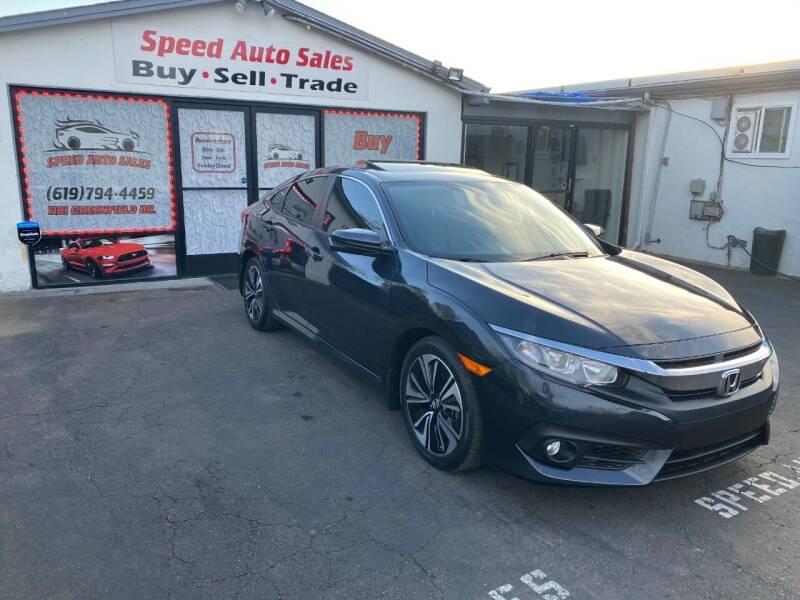 2017 Honda Civic for sale at Speed Auto Sales in El Cajon CA