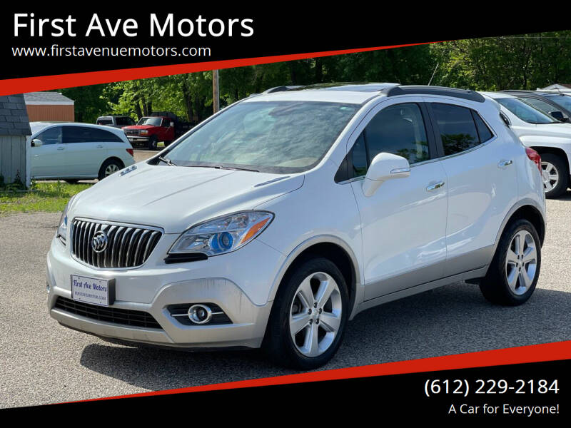 2015 Buick Encore for sale at First Ave Motors in Shakopee MN