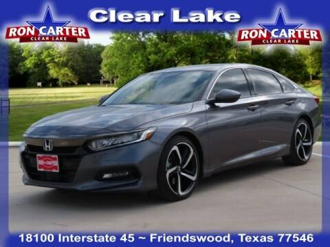 2020 Honda Accord for sale at Ron Carter  Clear Lake Used Cars in Houston TX