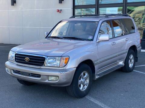 2001 Toyota Land Cruiser for sale at MAGIC AUTO SALES in Little Ferry NJ