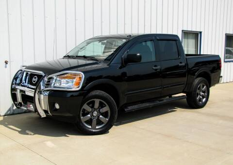 2015 Nissan Titan for sale at Lyman Auto in Griswold IA