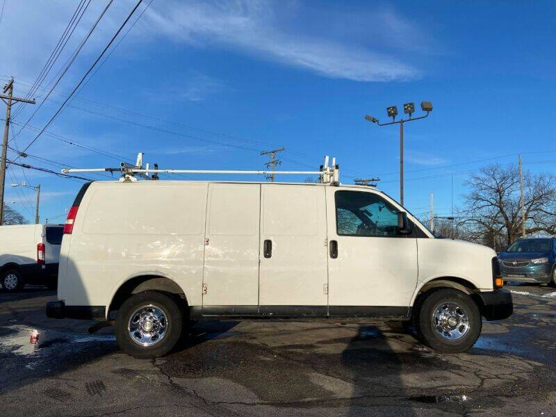 2013 Chevrolet Express Cargo for sale at Groesbeck TRUCK SALES LLC in Mount Clemens MI
