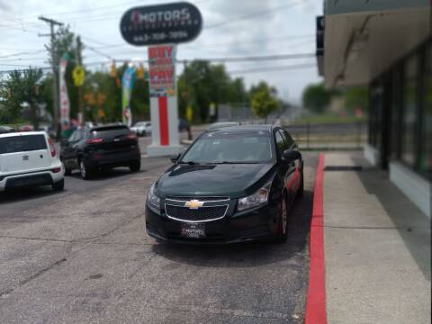 2014 Chevrolet Cruze for sale at i3Motors in Baltimore MD