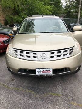 2005 Nissan Murano for sale at One Stop Auto Sales in Midlothian IL