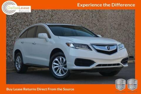 2016 Acura RDX for sale at Dallas Auto Finance in Dallas TX