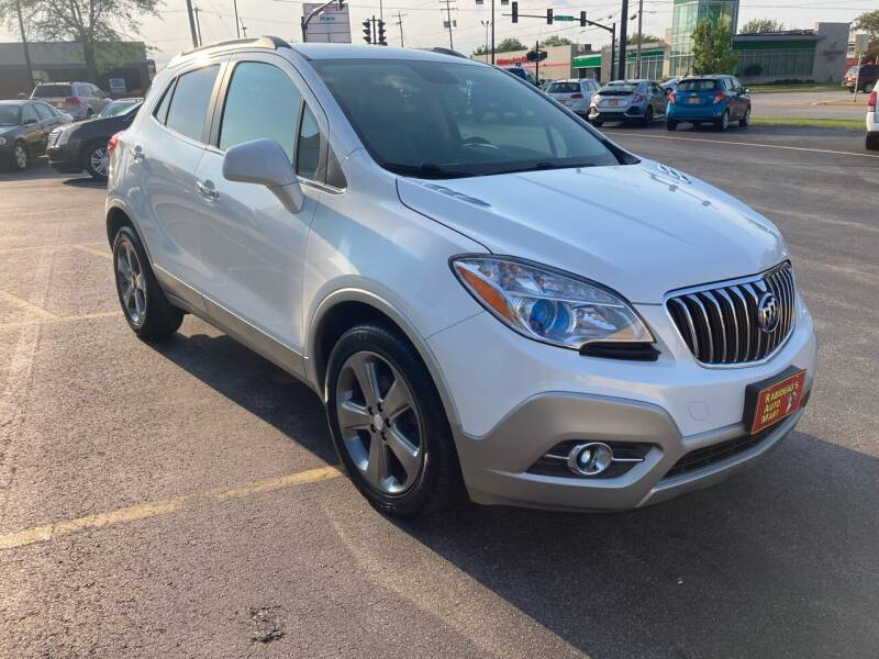 2013 Buick Encore for sale at RABIDEAU'S AUTO MART in Green Bay WI