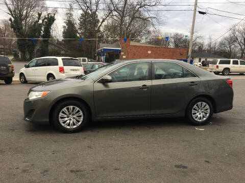 2012 Toyota Camry for sale at Diamond Auto Sales in Lexington NC