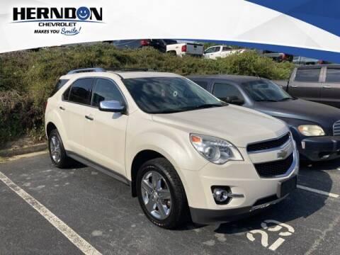 2015 Chevrolet Equinox for sale at Herndon Chevrolet in Lexington SC